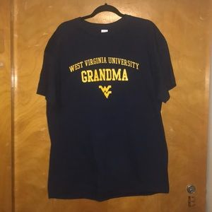 BRAND NEW NEVER WORN WVU GRANDMA SHIRT